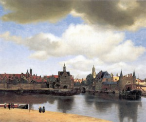 Vermeer Udsigt over Delft